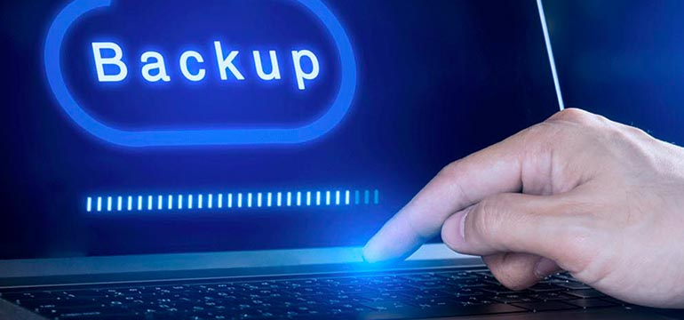 Backup en wordpress